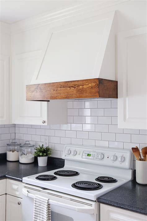 Diy Range Hood Leaving Small Cabinet