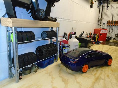 Diy Rc Tire Rack