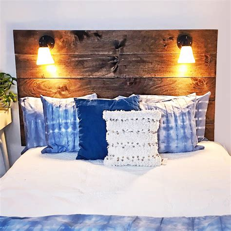 Diy Reading Light Headboard