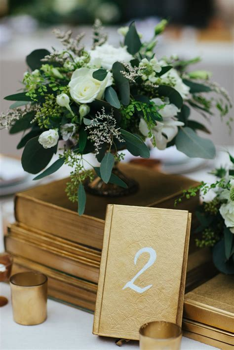 Diy Reception Table Number Ideas
