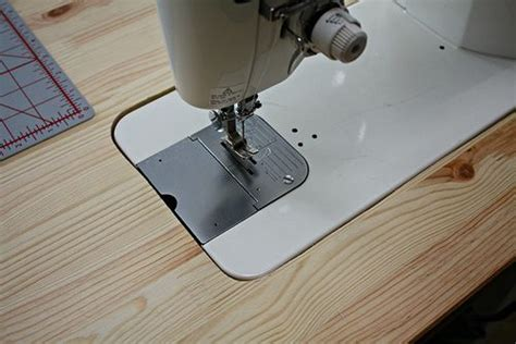 Diy Recessed Sewing Machine Table