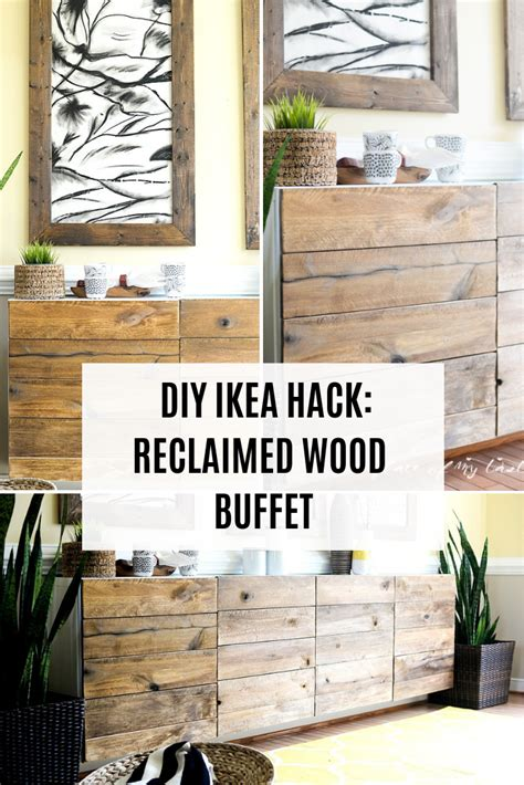 Diy Reclaimed Wood Buffet Dresser