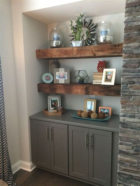 Diy Reclaimed Wood Buffet With Shelf