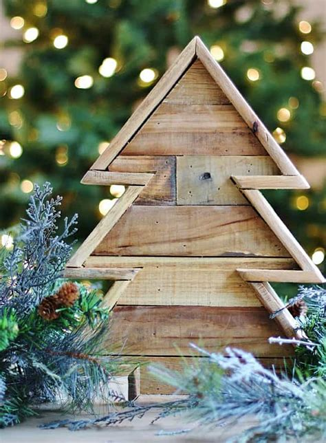 Diy Reclaimed Wood Christmas Trees Images