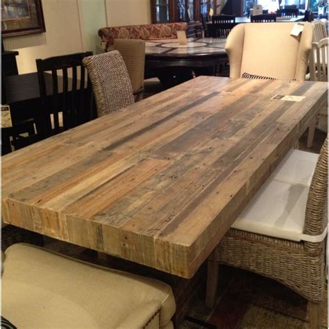 Diy Reclaimed Wood Dining Room Table