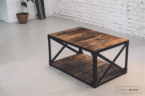 Diy Reclaimed Wood End Table