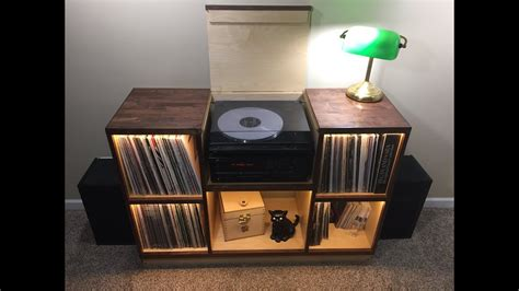 Diy Record Player Cabinet Plans