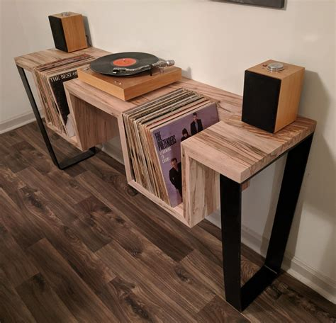 Diy Record Player Stand Blueprints For Sheds