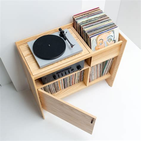 Diy Record Player Table With Storage