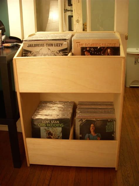 Diy Record Storage 4x8 Sheet