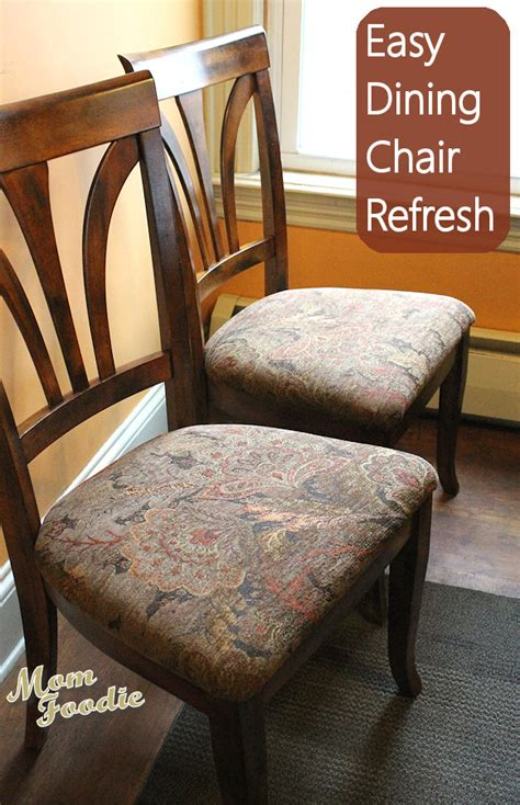 Diy Recovering Dining Room Chairs