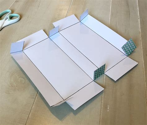 Diy Rectangle Gift Box Template
