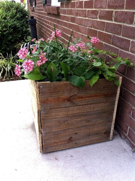 Diy Recycled Wood Planters