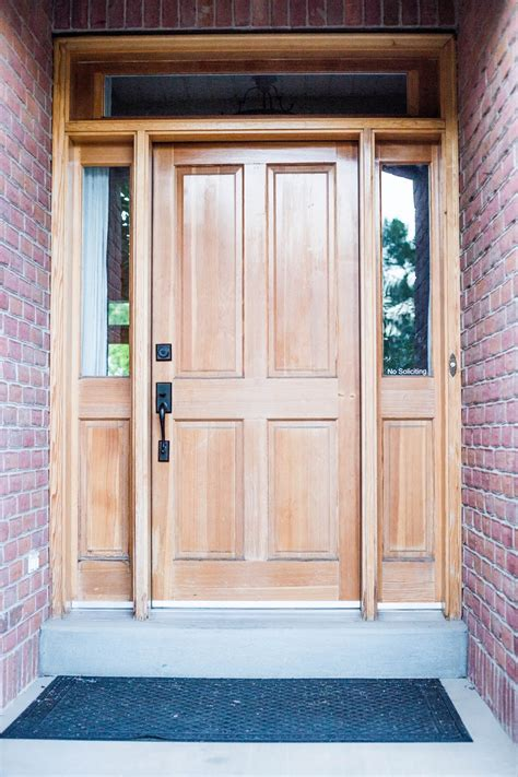 Diy Refinish Front Door