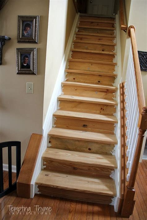 Diy Refinish Wood Staircase