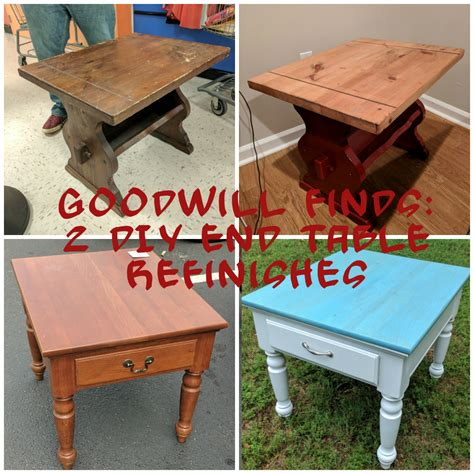 Diy Refinishing End Tables