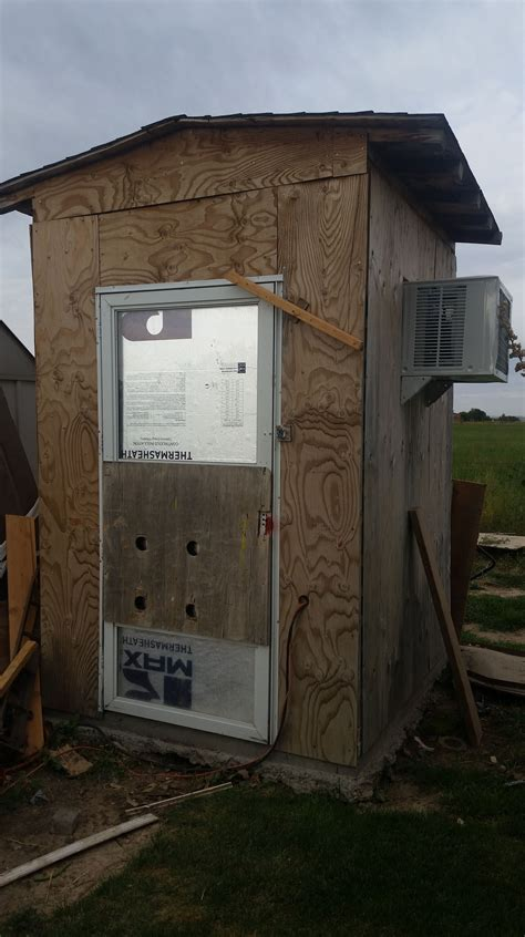 Diy Refrigerated Shed
