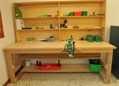 Diy Reloading Bench And Shelves