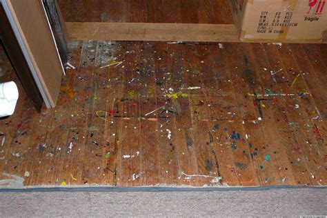 Diy Remove Paint From Wood Floor