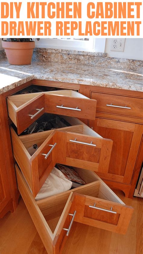 Diy Replace Kitchen Drawers