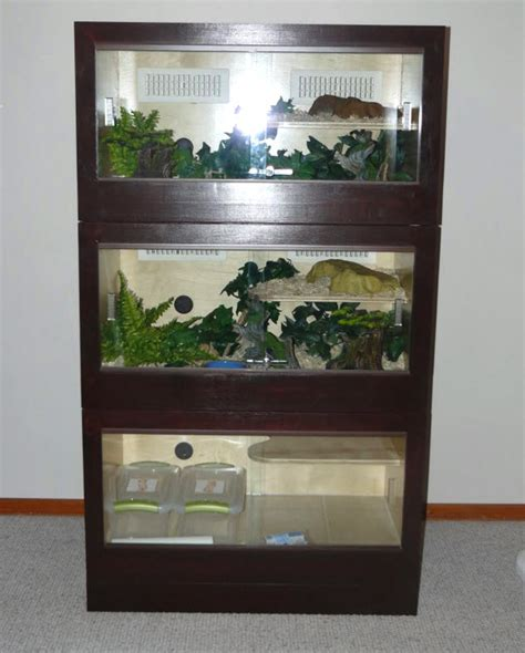 Diy Reptile Cage Stand