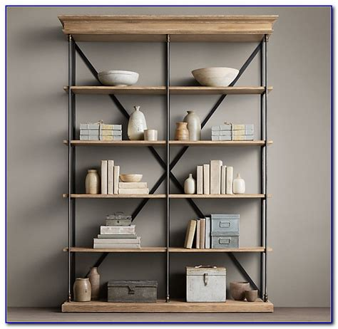 Diy Restoration Hardware Bookshelf