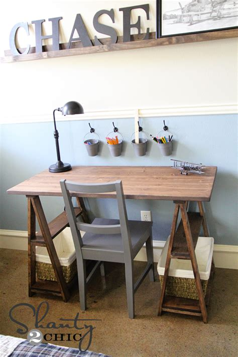 Diy Restoration Hardware Desk