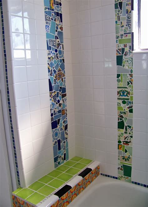 Diy Restroom Shower Tiled Floors