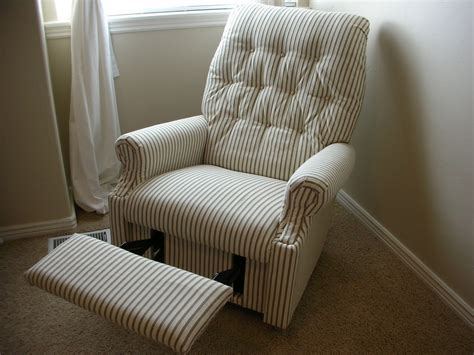 Diy Reupholster A Recliner Chair
