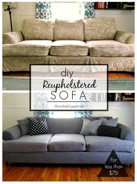 Diy Reupholster Couch