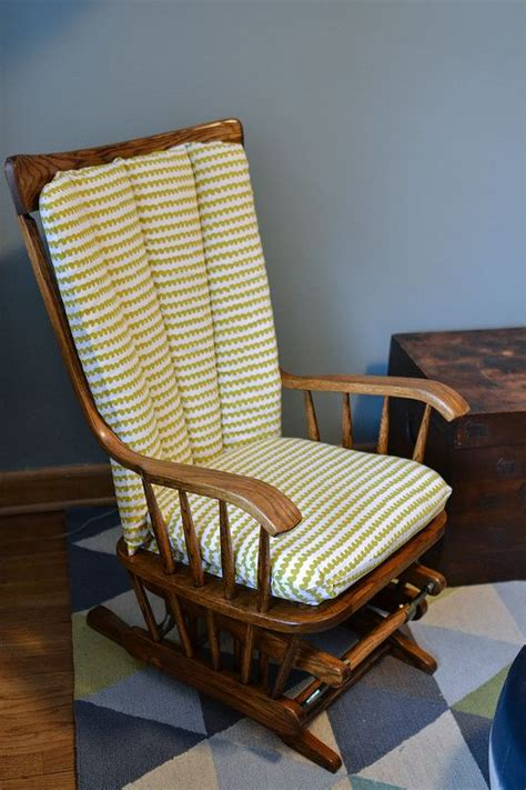 Diy Reupholster Glider Chair