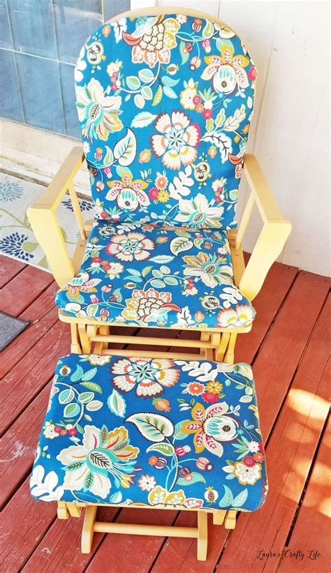 Diy Reupholster Rocking Chair Cushion