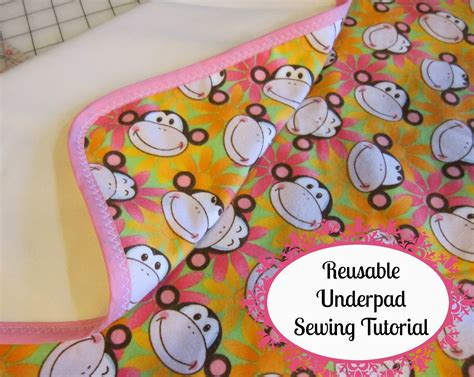 Diy Reusable Bed Pad Instructions