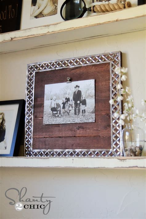 Diy Ribbon Picture Frame
