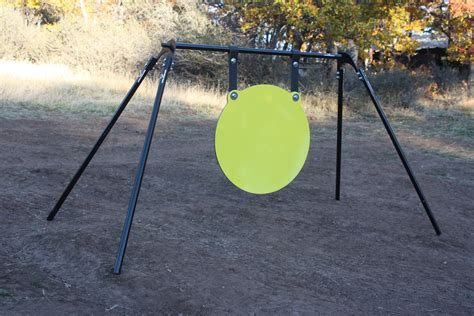 Diy Rifle Gong Stand