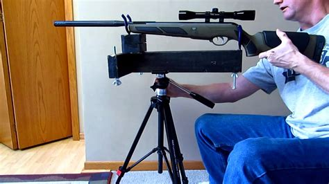 Diy Rifle Stand For Zeroing Iron