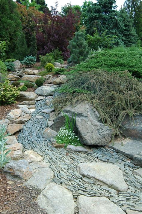 Diy Rock Bed Drainage Ideas