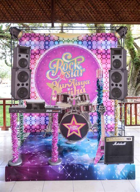 Diy Rock Star Party Themes