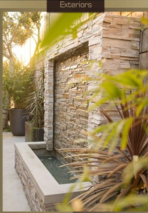 Diy Rock Wall Fountains