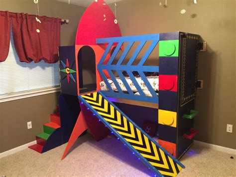 Diy Rocket Ship Bed