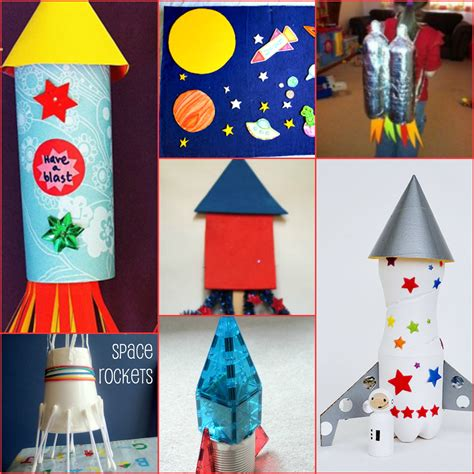 Diy Rocket Ship Decorations