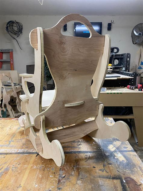 Diy Rocking Chair Kits Adult
