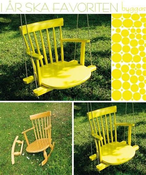 Diy Rocking Chair Swing