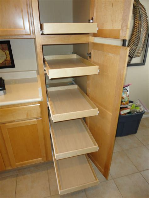 Diy Roll Out Shelves