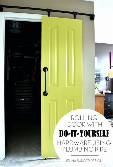 Diy Rolling Door Hardware