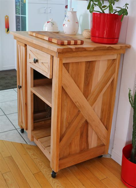 Diy Rolling Kitchen Islands And Bars