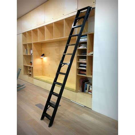 Diy Rolling Library Ladders