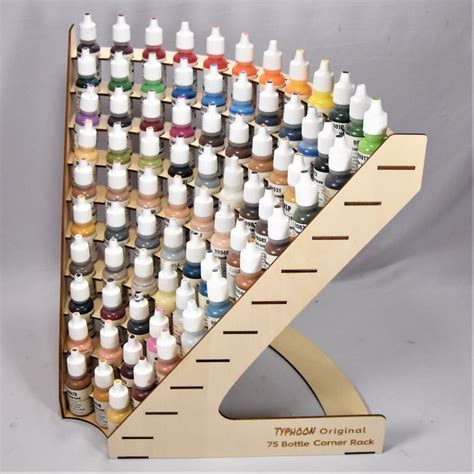 Diy Rolling Paint Rack