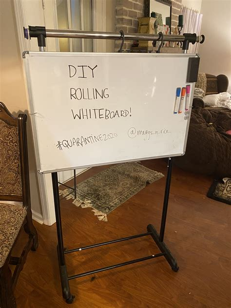 Diy Rolling Whiteboards