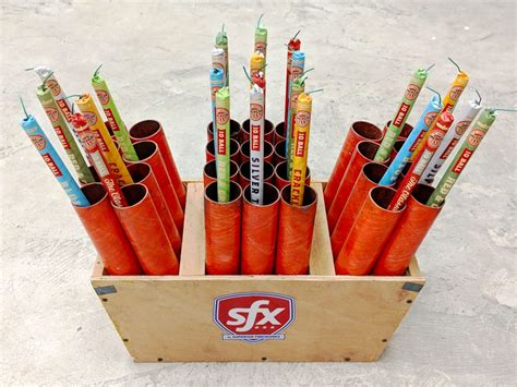 Diy Roman Candle Racks